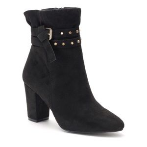 Jennifer Lopez Zircon Black Ankle Boots 10M NEW